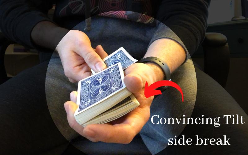 Daryl's Convincing Tilt uses a deceptive side break
