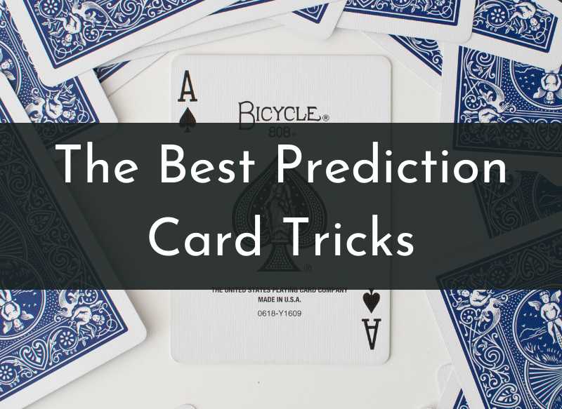 Prediction card tricks explained