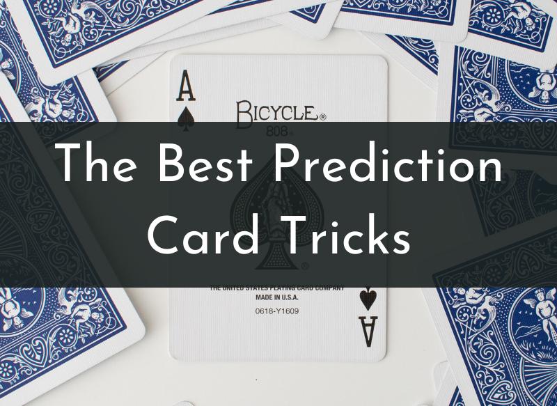 Prediction card tricks explained